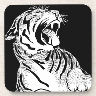 Coasters West White Tiger Feng Shui Protector