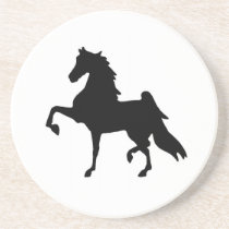 Coasters with Saddlebred Horse