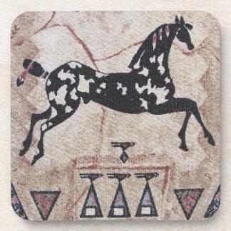 Coasters--Woven Pony Coaster