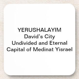 COASTERScork - Yerushalayim: La ciudad de David Posavasos