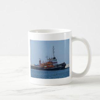 Coastguard Boat And Tug Boat Coffee Mug
