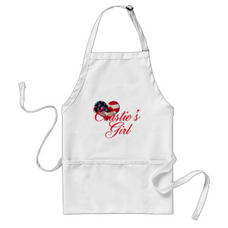 coastie's girl adult apron