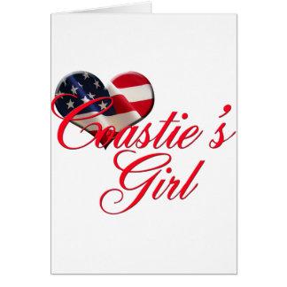 coastie' chica de s tarjeton