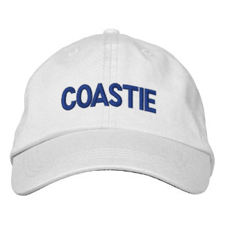 COASTIE EMBROIDERED BASEBALL HAT