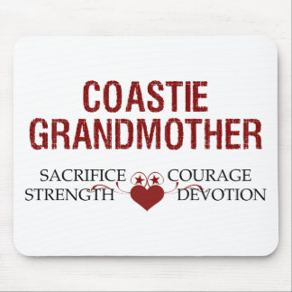 Coastie Grandmother Sacrifice, Strength, Courage Mouse Pad