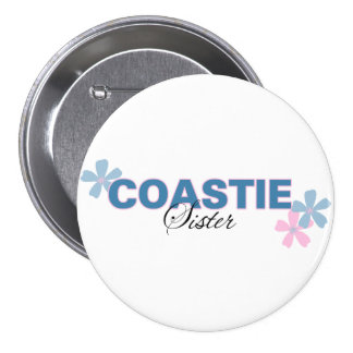 Coastie Sister Button