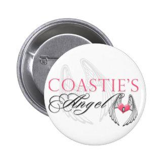 Coastie's Angel Pinback Buttons