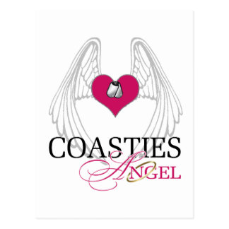Coasties Angel Postcard