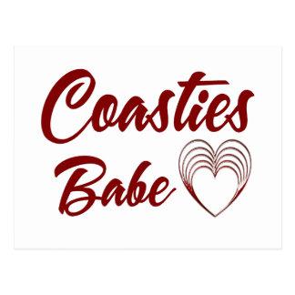 Coasties Babe Postcard