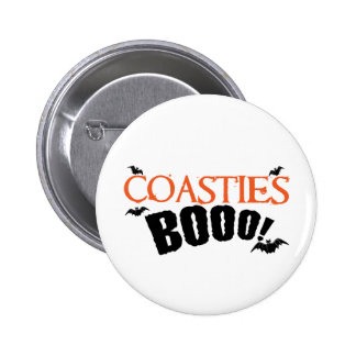Coasties Boo Pinback Button