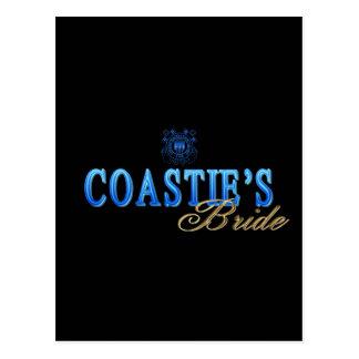 Coastie's Bride Postcard
