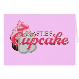 Coastie's Cupcake Card