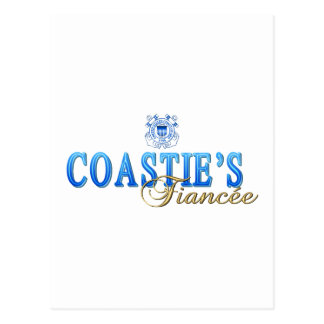 Coastie's Fiancee Postcard