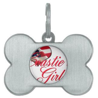 coastie's girl pet ID tag