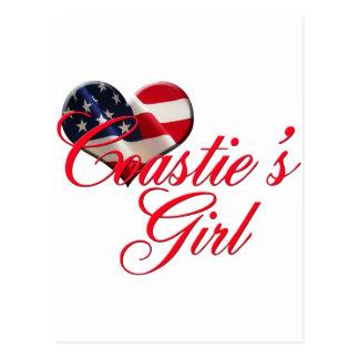 coastie's girl postcard