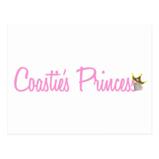Coastie's Princess Postcard