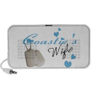 Coastie's Wife Doodle Speaker