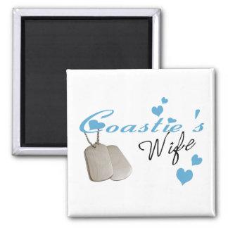Coastie's Wife Magnet