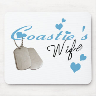 Coastie's Wife Mousepad