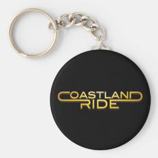 Coastland Ride - Name logo Keychain