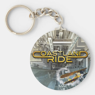 Coastland Ride - On Top Of The World CD cover Keychain