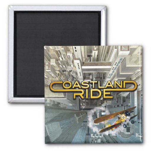 Coastland Ride - On Top Of The World CD cover Magnet
