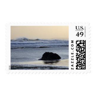 coastline at dawn postage