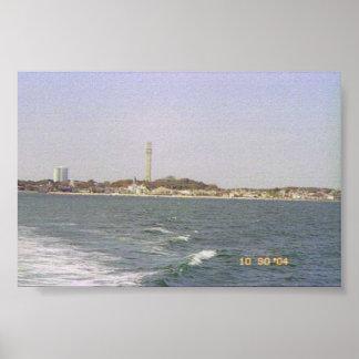 Coastline at Provincetown Poster