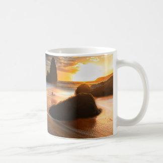 Coastline At Sunset   Northern California Coffee Mug