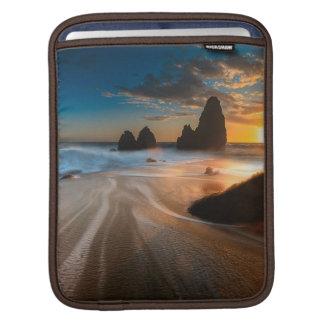 Coastline At Sunset | Northern California iPad Sleeve