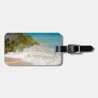 Coastline Bermuda Beach Luggage Tag
