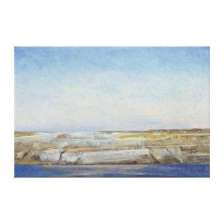 Coastline Gozo Canvas Print