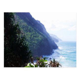 coastline in kauai post cards