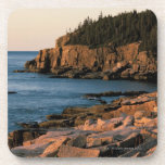 Coastline of Acadia National Park , Maine Beverage Coasters