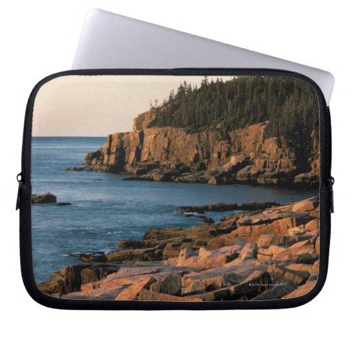 Coastline of Acadia National Park , Maine Laptop Computer Sleeves