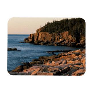 Coastline of Acadia National Park , Maine Magnet