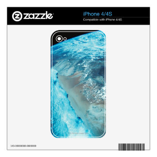 Coastline on Earth Decal For iPhone 4
