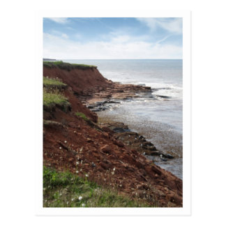Coastline, PEI Postcard