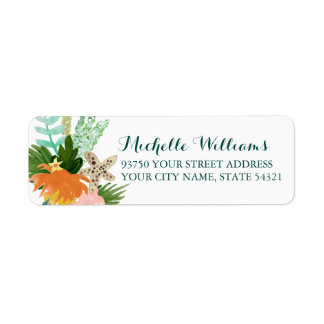 Coastline Return Address Labels