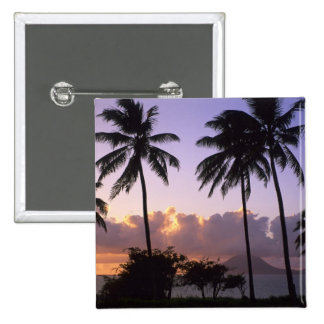 Coastline St. Kitts Pinback Button