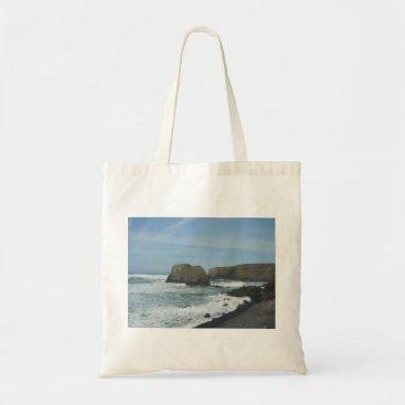 Beach Themed Coastline Tote Bag