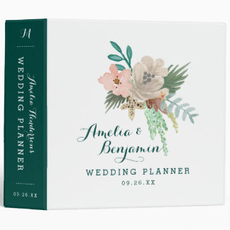 Coastline Wedding Planner 3 Ring Binder