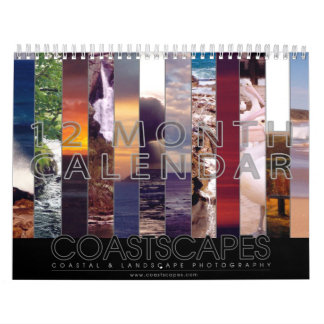 Coastscapes Australia calendario de la foto de 12