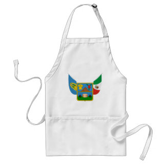 Coat Arms Hidalgo Offical Mexico Heraldry Symbol Adult Apron