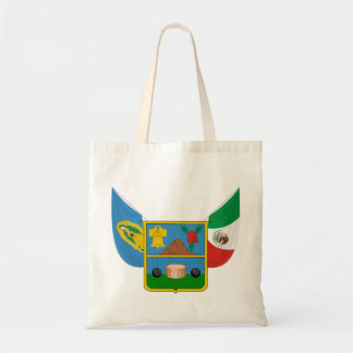 Coat Arms Hidalgo Offical Mexico Heraldry Symbol Budget Tote Bag