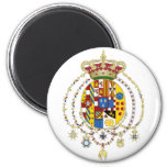 Coat  Arms Kingdom of Two Sicilies Official Italy Refrigerator Magnets