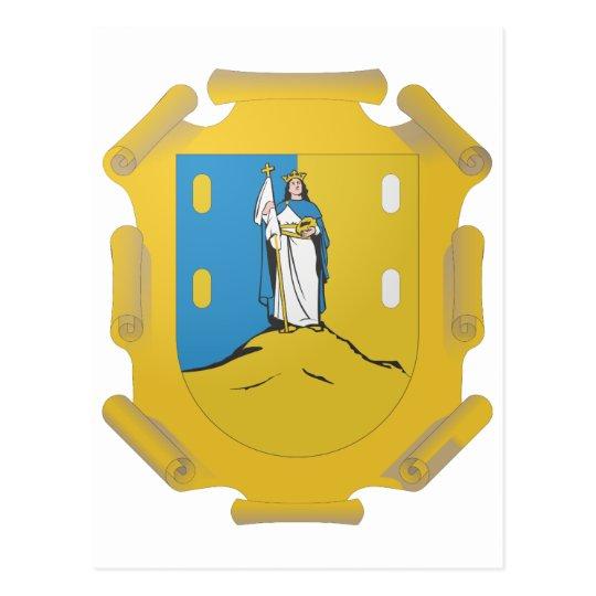 Coat Arms San Luis Potosi Official Mexico Symbol Postcard
