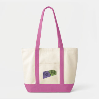 Coat as Co Cobalt and At Astatine Canvas Bags