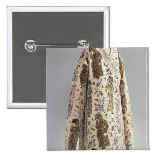 Coat, from Iran, Safavid, c.1600 2 Inch Square Button