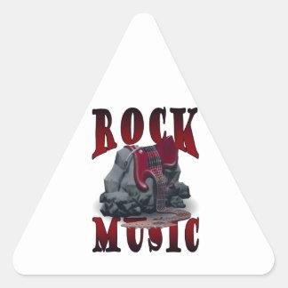 Coat Music Triangle Sticker